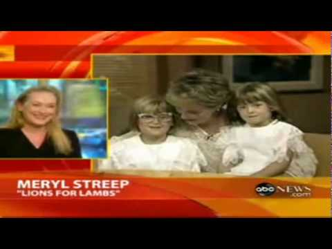 Meryl Streep,Mamie Gummer and Grace Gummer @ Good Morning America 1990.avi