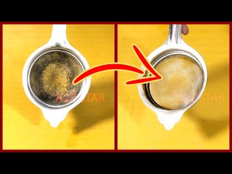 Clean Metal Sieve Stainless Steel Tea Strainer | Kitchen cleaning routine tips