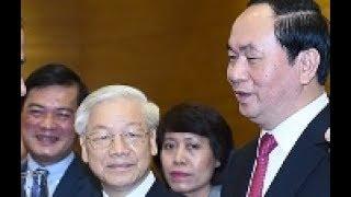 Trần Đại Quang tuyên bố sẽ hạ bệ Nguyễn Phú Trọng