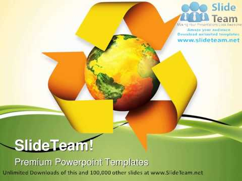 Recycle Globe PowerPoint Templates Themes And Backgrounds ppt themes