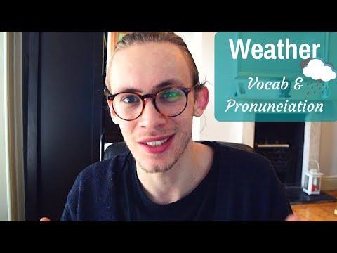 British Weather | Vocabulary & Pronunciation Lesson