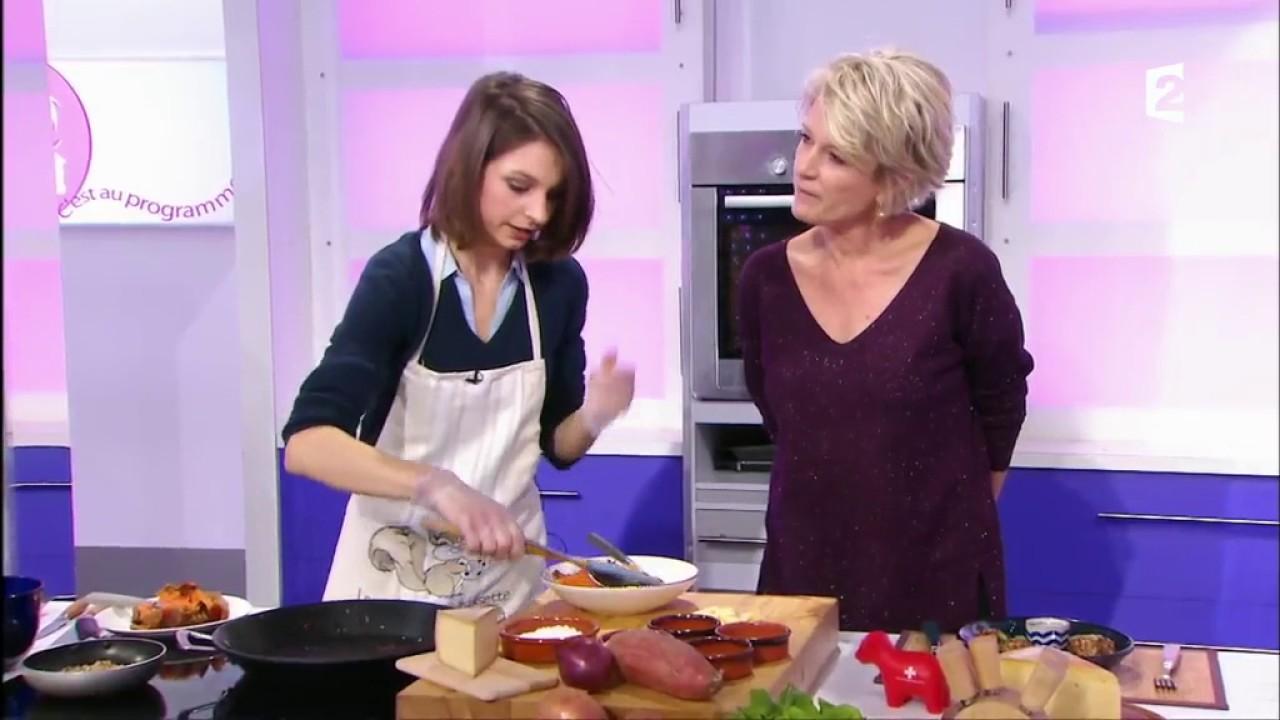 Croquettes de patate douce la raclette suisse c 39 est au - C est au programme recettes cuisine france 2 ...
