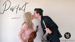 "Husband & Wife Play Perfect"" Sax And Violin | Eli Bennett & Rosemary Siemens (Ed Sheeran) (2019)"