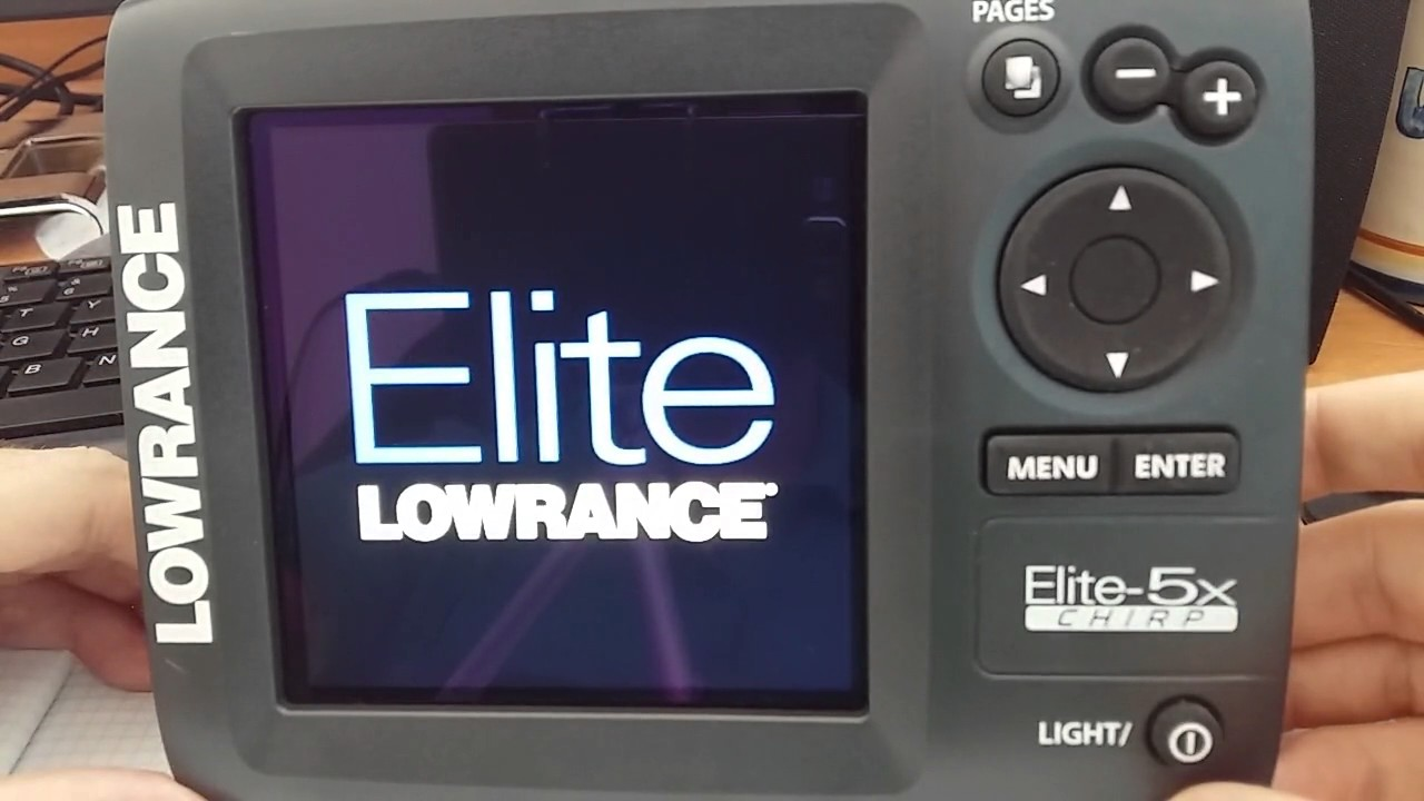 Lowrance Elite 7 HDI Fish Finder with Down Scan Overview - YouTube