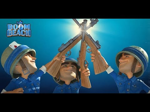 BOOM BEACH LIVE - TASK FORCE WARS COMING TO THIS CHANNEL!