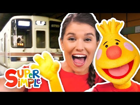 Let's Take The Subway | Sing Along With Tobee | Kids Songs