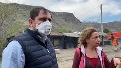Հաղպատ-Բագրատաշեն ճանապարհահատվածում Սուրեն Պապիկյանը հետևել է շինարարական աշխատանքներին