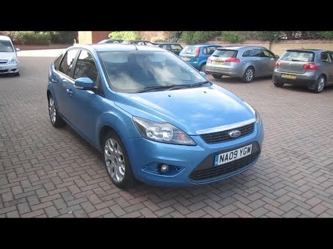 2009 Ford Focus 1.6 Zetec Start-Up, Full Vehicle Tour and Quick Drive