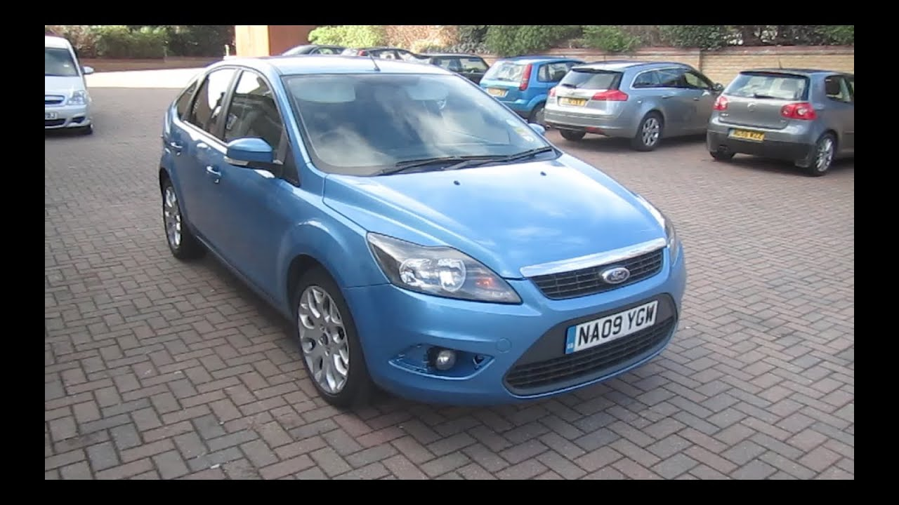2009 ford focus 1 6 zetec start up full vehicle tour and quick drive youtube. Black Bedroom Furniture Sets. Home Design Ideas