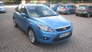 2009 Ford Focus 1.6 Zetec Start-Up, Full Vehicle Tour, and Quick Drive