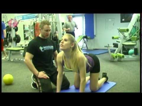Cviky na zdravý chrbát - ZMENÁREŇ FIT BODY