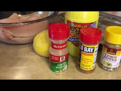 Easy Lemon Pepper Fish