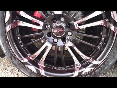 How to super clean dirty rims and tyres