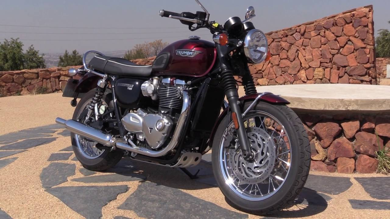 2016 Triumph Bonneville T120 Youtube