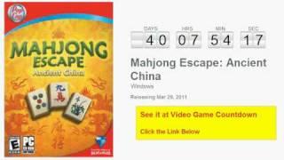 Mahjong Escape Ancient China PC Countdown