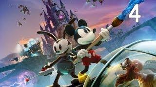 Disney Epic Mickey 2: The Power of Two - Walkthrough Part 4 [HD]