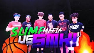SLIME MAFIA VS SMK 3V3 BASKETBALL GAME 🏀 (SOMEONE GOT EMBARRASSED)