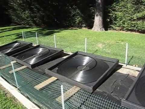 Solar Pool Heater Diy Youtube