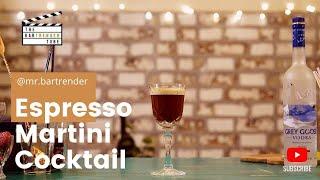 Espresso Martini Cocktail | The BarTrender Tube