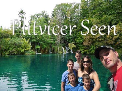 Plitvicer Seen, Kroatien 🌀 Fast allein im Nationalpark, ein Traum! 😍 - Weltreise mit 4 Kindern [HD