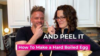 Perfect Hard Boiled Eġgs Easy Peel! 👏