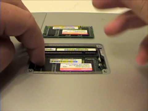 powerbook g4 15 ram memory replacement guide youtube rh youtube com MacBook Air powerbook g4 troubleshooting guide