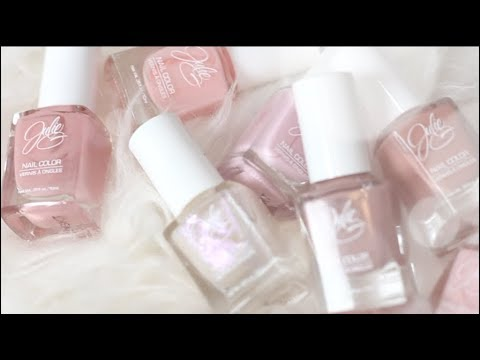GIVEAWAY!! NEW SPRING NUDES 2018 | Julie G Nail Polish - YouTube