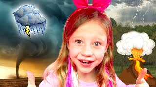 Download Nastya learns by playing with her dad | Collection of children's videos