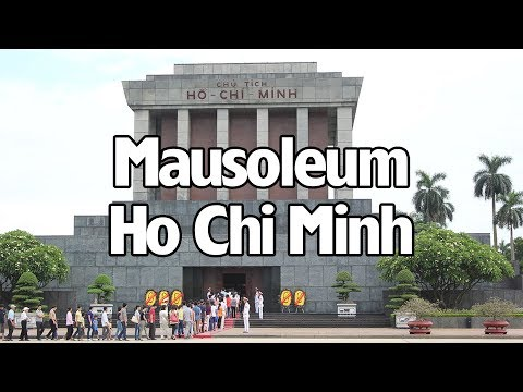 MENGINTIP MONUMEN MAKAM HO CHI MINH DI HANOI VIETNAM!!! HO CHI MINH MAUSOLEUM