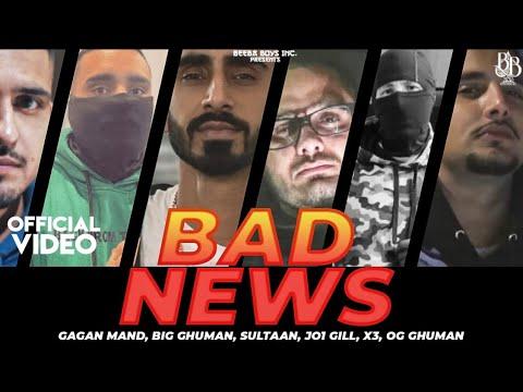 Download Sultaan - Bad News Ft. Gagan Mand | BIG Ghuman | JO1 Gill | X3 | OG Ghuman | Latest Punjabi Song