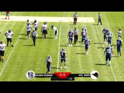 Milan Seamen vs Istanbul Koc Rams - IFAF Europe Champions League