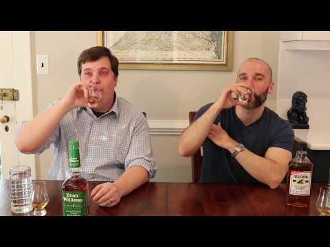 Bottom Shelf Bourbon down 2   Evan Williams Green vs Old Crow