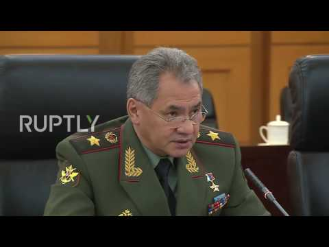 China: Russian-Chinese military ties aid Eurasian 'peace and stability' - Shoigu