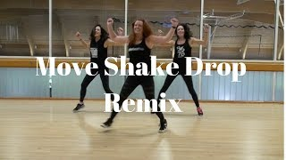 Move Shake Drop Remix by DJ Laz feat. Casely and Flo Rida | dance fitness choreo by Alana