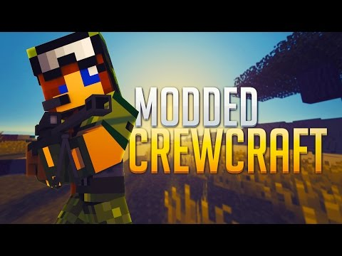 Minecraft - Modded CrewCraft Livestream #3 -