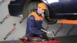 How to change Coolant temperature sending unit on BMW 7 (E65, E66, E67) - online free video