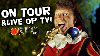 VLOG van Party Piet Pablo - LIVE On tour & backstage @ Ahoy & ZAPP