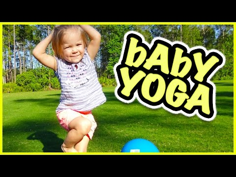 😜BABY  RORY DOES YOGA?!?!  😜 FAMILY VLOG | SMELLY BELLY TV