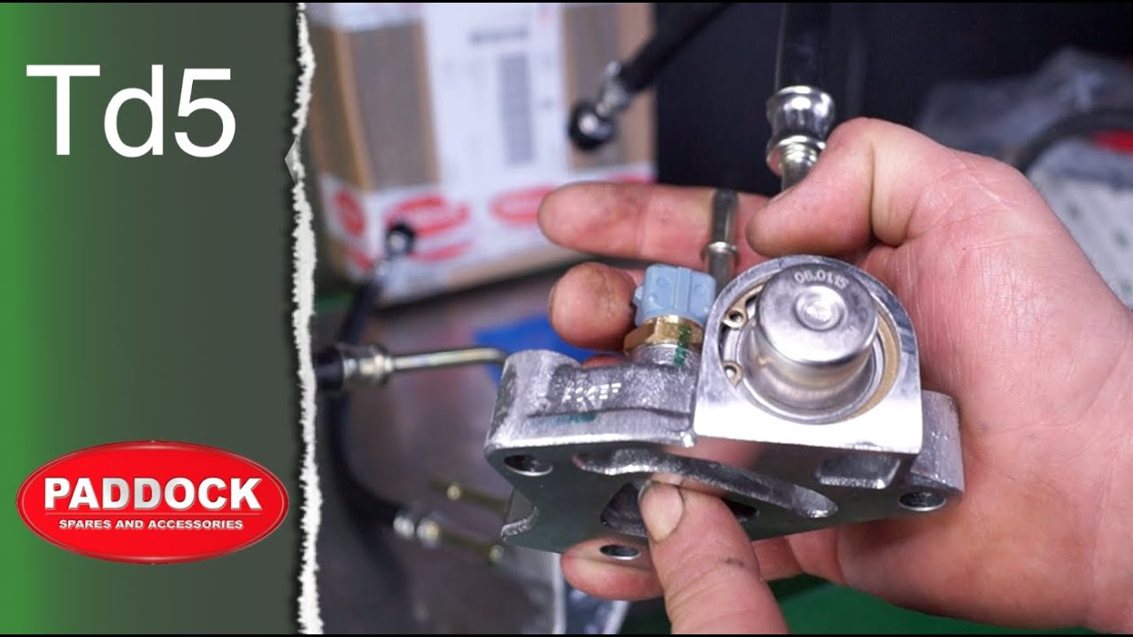 Fitting A New Td5 Fuel Pressure Regulator Land Rover Discovery 2 Central Locking Wiring Diagram Defender 10p