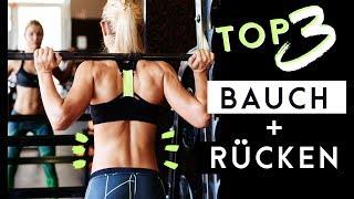 Meine TOP Rücken + Bauch Übungen | Low-Carb Eiscreme | VLOG