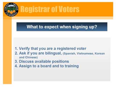OC Registrar of Voters