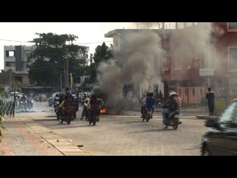 Protests in Benin as police surround home of vote boycott leader