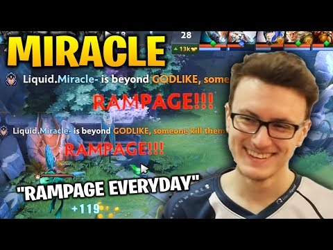 MIRALCE 2x RAMPAGE IN ONE GAME! WHY HE CAN GET RAMPAGE SO EASY??