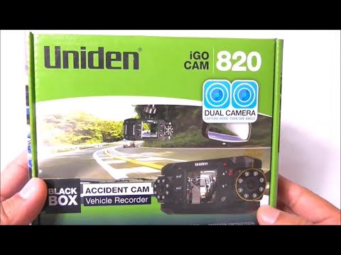 Uniden Dashcam Unboxing And Actual Footage