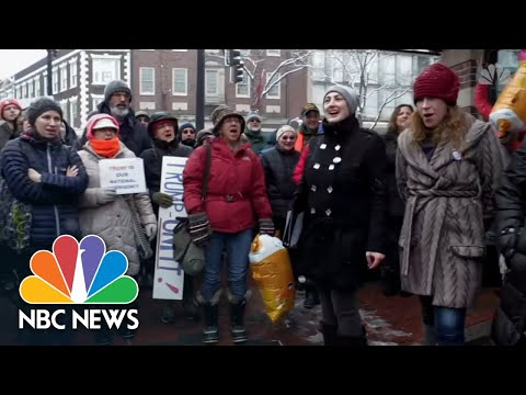 Watch Nationwide Protests Against President Donald Trump's National Emergency Declaration | NBC News