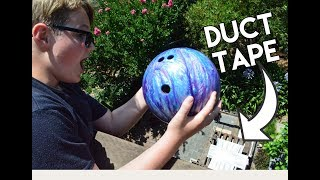 Bowling Ball Vs. Duct Tape!