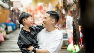 BTS: Carman's urban family portrait session