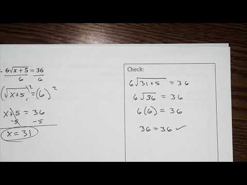 Rational and Radical Functions Review