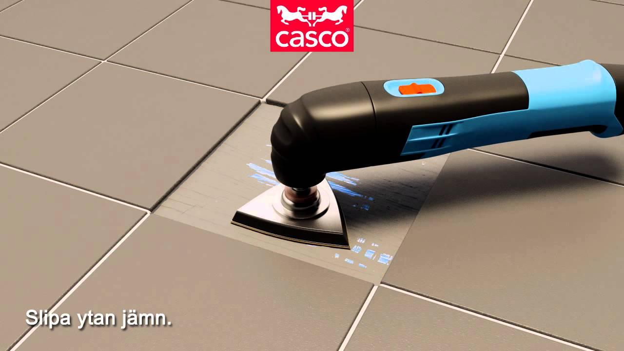 Inredning tätskikt våtrum : Lagning av tätskikt - Casco
