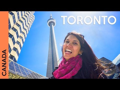 Things to do in Toronto, Canada - Day 2 | Travel vlog